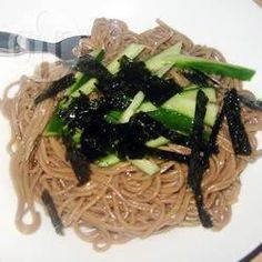 Recipe photo: Soba Noodles with Julienned Vegetables
