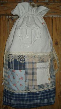 sac à dos, kelsch, vieilles dentelles