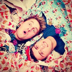 hey look... it's my perfect Christmas gift - two British youtubers <3 xx