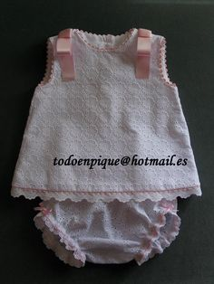 Ibiza two piece baby set available in the on line shop… Handmade Baby Items, Bebe Baby, Baby Sewing Projects, Kids Frocks, Line Shopping, Heirloom Sewing, Toddler Outfits, Baby Dress, Smocking