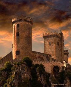 Foix Castle, France | by Rick Du Boisson