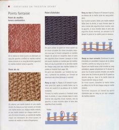 Albums archivés - Création au tricotin géant Round Loom Knitting, Knifty Knitter, Le Point, Knit Crochet, Archive, Creations, Weaving, Embroidery, Crafts