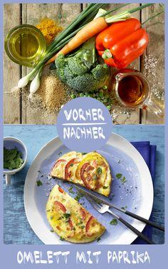 http://eatsmarter.de/rezepte/gemuese-omelett Omelett ist schnell gemacht und das perfekte Low Carb Essen.