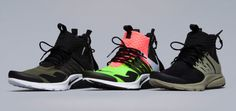 Nike x Acronym Air Presto #Nike #AirPresto