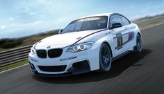 #BMW Shows Off Its New M235i Racing Car! Hit the pic to be the first to see this awesome racing car!
