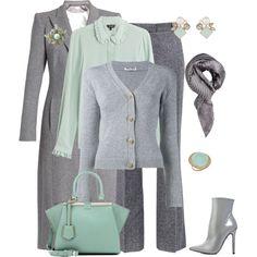 outfit 5776 by natalyag on Polyvore featuring moda, Miu Miu, Tara Jarmon, Carl Kapp, Barbara Bui, Carvela, Fendi, Atelier Mon, Seraphina and Elizabeth Gage
