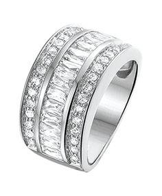 BELLA – Ring mit Reihen aus Zirkonia