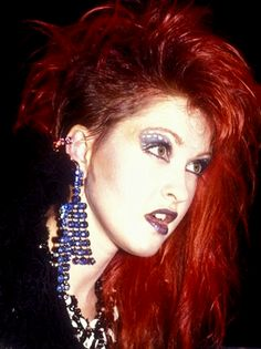 People like to call the side shave the Skrillex...well I call it the Cyndi Lauper!