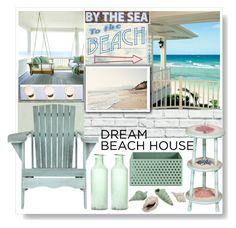 """Dream beach house"" by gul07 ❤ liked on Polyvore featuring interior, interiors, interior design, casa, home decor, interior decorating, York Wallcoverings, Safavieh, ArteHouse e Livex"