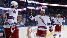 Lundqvist stands tall, Rangers beat Lightning 5-1 in Game 4 New York Rangers  #NewYorkRangers