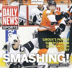 Claude Giroux Hit On Crosby