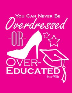 My daughter made this free printable. Visit the site to download and print! :)    Overdressed or Overeducated Free Printable - Pink Truth Quotes, Book Quotes, Me Quotes, Cool Words, Wise Words, New Year Diy, Speak The Truth, Motivational Words, Note To Self