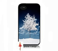 Unique White Tree  iphone 4 case geekery Iphone by IPhone4Design,