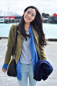 cloudfifteen:  weneedfashion:  Seon Hwang   She's gorgeous