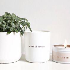 Hayley Marie Australia's Slumber Candle collection