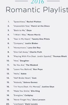 Song list romance learning go musicsongs song list romance list romance song trendy wedding songs playlist father daughter ideas Wedding Love Songs, Romantic Songs, Wedding Music, Boho Wedding, Dream Wedding, Wedding Song List, Backless Wedding, Wedding Quotes, Tulle Wedding