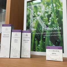 """Which one of these is your favorite? @infinityskinclinicmedispa reminds us that """"We all need #retinol in our skin care regime."""" #iknowcosmedix  Image via: @infinityskinclinicmedispa"""