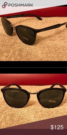 8743c4bb13d Authentic Prada Sunglasses Black Prada Accessories Sunglasses Prada  Sunglasses