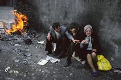 The Slums of 1980s Glasgow Through the Lens of a French Photographer - Glasgowby Raymond Depardon