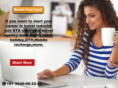 If you want to start your career in travel industry join BTA start your travel agency book flight, hotel, holiday,dth,mobile recharge,more...  visit : http://www.becometravelagent.in/