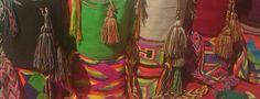 Bolsos tejidos. Colombia