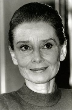 Audrey Hepburn. The art of aging beautifully