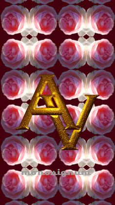 @monosignum is proudly to #present your #AV_01 #monogram as a #wallpaper for your #iPHONE #5 for #free