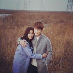 Kim Jaejoong and Ko Sung Hee's 'affectionate couple' shot for SPY