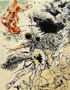 Salvador Dalí - Dulcinea