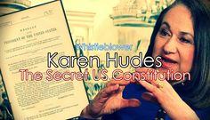 World Banker Karen Hudes Reveals Secret US Constitution (Drafted in 1871); 22:52, NextNewsNetwork, youtube: