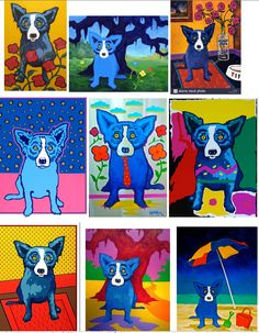 Examples of George Rodrigue's art