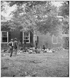 Wounded from the Battle of the Wilderness - Fredericksburg, VA, May 1864