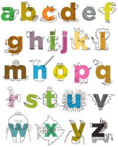 Imprimolandia: abecedario