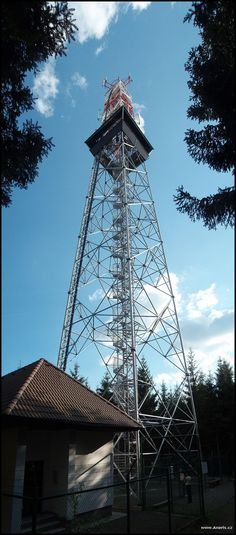 Horní les u Víru Lookout Tower, Czech Republic, Towers, Stairs, Stairway, Tours, Tower, Staircases, Bohemia