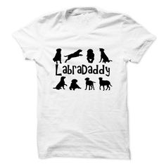 You can order this Labradaddy! For Proud Labrador Daddies! t-shirt on several different sizes, colors, and styles of shirts including short sleeve shirts, hoodies, and tank tops.Each shirt is digitally printed when ordered, and shipped from Northern California