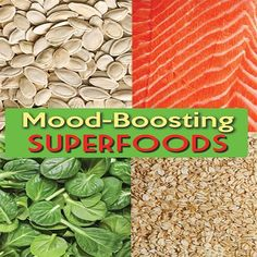 Feeling down? Try these Mood Boosting Superfoods! #SkinnyMs