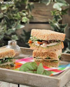 Sandwich de pollo con pesto | L'Exquisit
