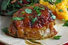 Curried Honey Dijon Roasted Chicken :: Interested in trying this marinade for the grill!!!
