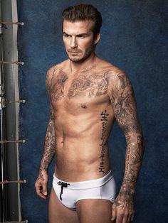 STEP 1: TAKE YOUR SHIRT OFF photo   David Beckham