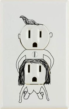 fair warning: if you invite me into your home, i will draw this on your outlet.