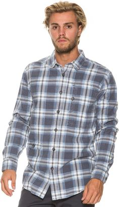 f9c5a3624f8 BILLABONG BLEEKER LS FLANNEL Image Mens Flannel