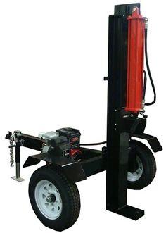 Vertical Log Splitter Plans, Build It Yourself 20, 25, 30, 35, 40, 45, and 50 Ton Wood Splitter Designs