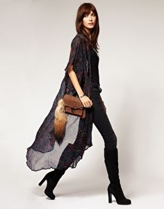 #UGG #Boots,#cheap #ugg, #fashion #ugg, #SHEEPSKIN #UGG #BOOTS, A look I like...love boots and skinny jeans and black...and the fox tail too! #Jeans #Boots #Fashion #ugg #boots