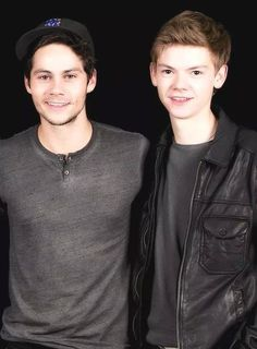 Thomas Sangster and Dylan O'Brien Photoshoot