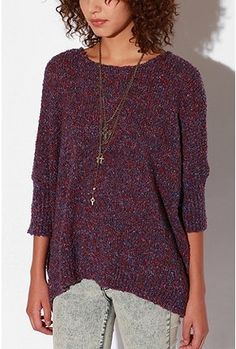 UO sparkle and fade boucle sweater