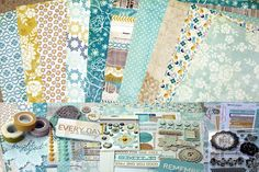 The Sweetest Thing Bluebell, loving the pattern mixes from MME