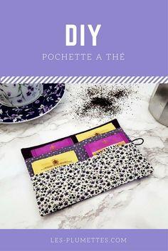 Découvrez comment réaliser votre pochette à thé DIY très facilement avec ce tutoriel en images! Une couture facile pour une pochette à thé originale.