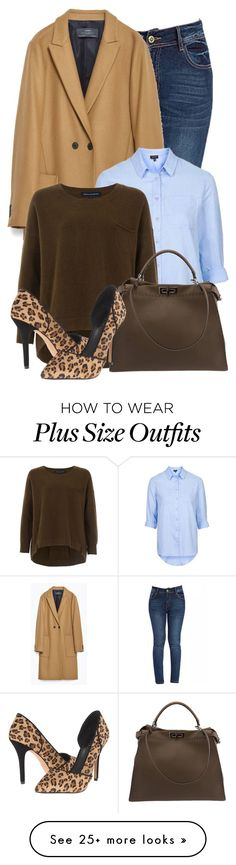 """""""Untitled #1122"""" by mrs-rc on Polyvore featuring Zara, Topshop, French Connection, Fendi, Artelier by Nicole Miller, women's clothing, women's fashion, women, female and woman"""