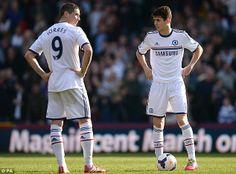 Fernando Torres and Oscar