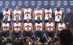 Team USA men's basketball squad for London 2012 Olympics